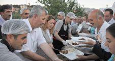 'Çarşı İftarı' programı Arapgir'de yapıldı