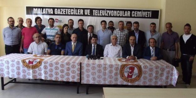 """Vali Vasip Şahin: 'basın Mensuplarından İncinmedim"""""""
