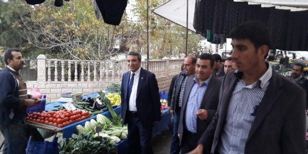 """Vahap Erdem: 'Yeşilyurt'a Yakışır Sabit Semt Pazarları Yapacağız"""""""