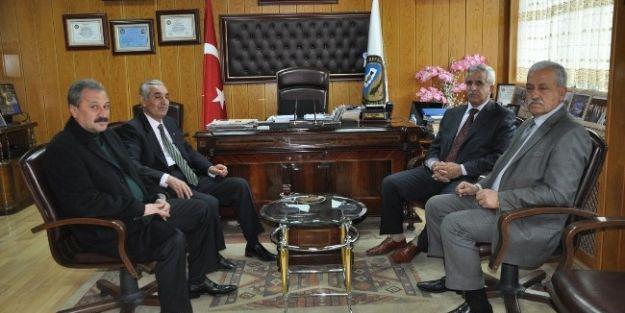 Vergi Müfettişleri Grup Başkanı Polat, Eskkk Başkanı Evren'i Ziyaret Etti