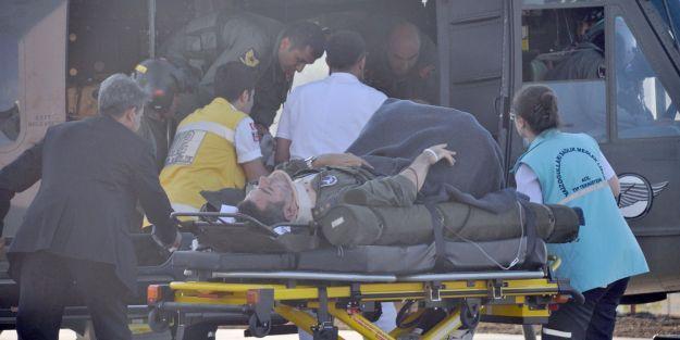 Yaralı Pilotların Sağlık Durumu İyi