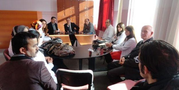 Yazıhan Kaymakamı Medeni Bakır, Anadolu Lisesi'ni Ziyaret Etti
