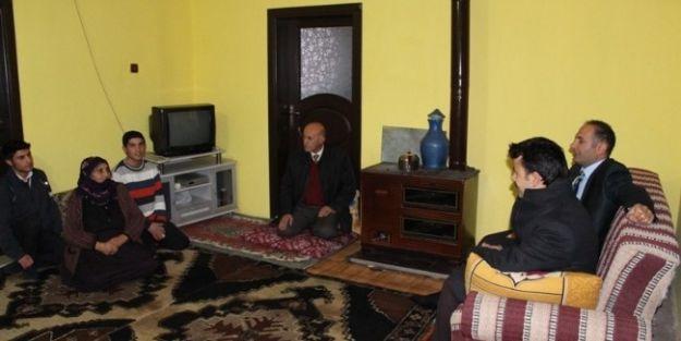 Yazıhan'da Öğrenci Ailelerine Ziyaret