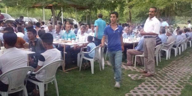 Yazıhan'da Toplu İftarlar Devam Ediyor