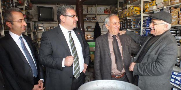 Yeni Sanayi Sitesi'ni ziyaret eden CHP'li İnci: