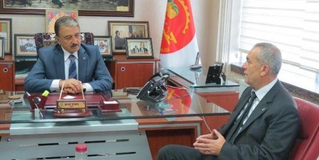 Yeşilyurt Belediye Başkan Aday Adayı Güneş'den Mesob'a Ziyaret