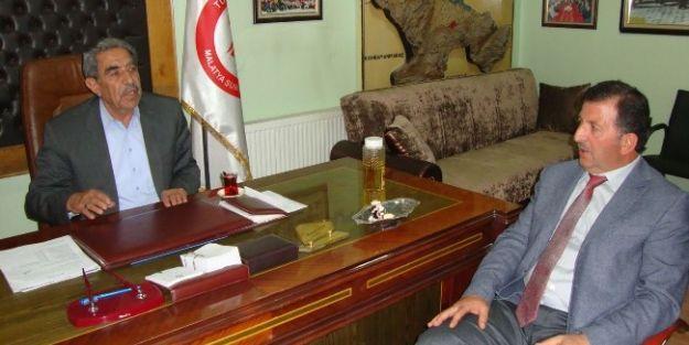 Yeşilyurt Belediye Başkanlığı Aday Adayı Aydoğan, Muhtarlar Derneğini Ziyaret Etti