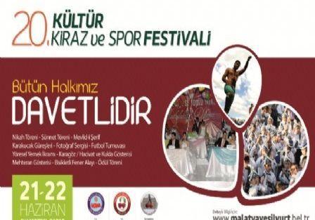 Yeşilyurt, Kiraz Festivali'ne Hazır