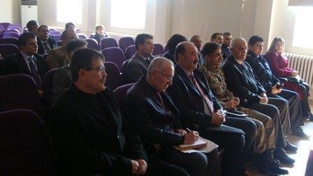 Yeşilyurt'ta, İlçe İdare Şube Başkanları Toplantısı Yapıldı