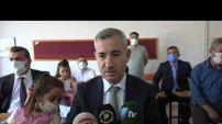 Yeşilyurt Belediye Başkanı Mehmet Çınar, okulları ziyaret edip, öğrencilerle buluştu